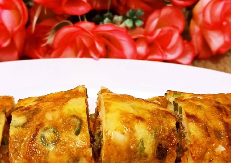 Omelet sayur
