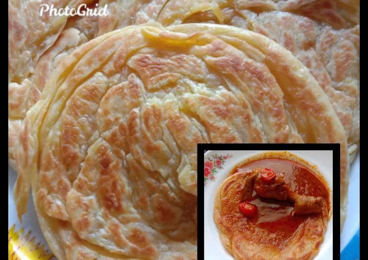 Roti Maryam / roti canai / martabak india