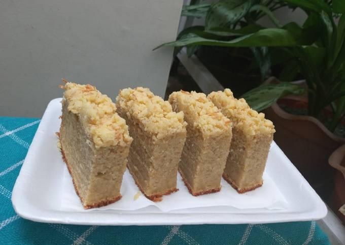 Apple cake strusel
