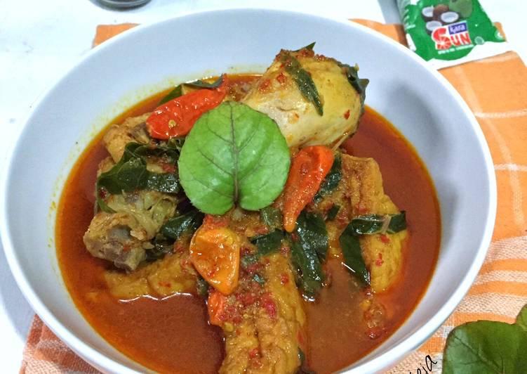 Kari Ayam Daun Mangkokan - cookandrecipe.com
