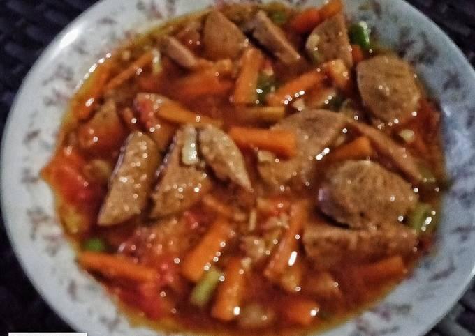 46. Galantin Daging Sapi Kuah Kecap Ala NitaMaha's Kitchen - projectfootsteps.org