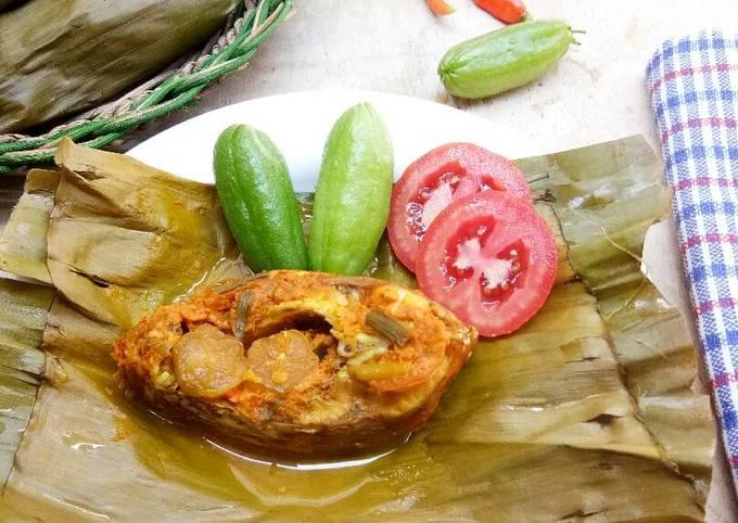 Resep Pepes Ikan Mas Belimbing Wuluh (#PR_BukanPepesanKosong) Ala Jesselyn Lauwreen MasterChef Indonesia