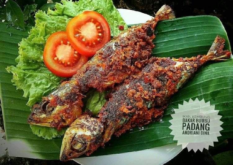 Ikan Kembung Bakar Bumbu Padang