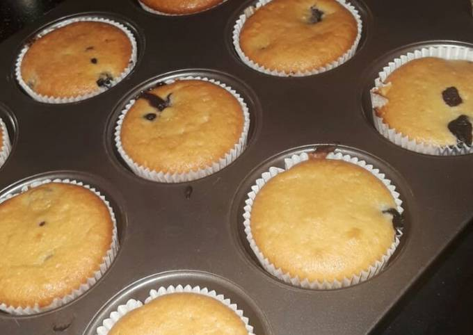 Easiest Way to Prepare Perfect Blueberry muffins #wheatflourchallenge