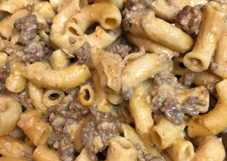 What are some Dinner Easy Fall Homemade Hamburger Helper
