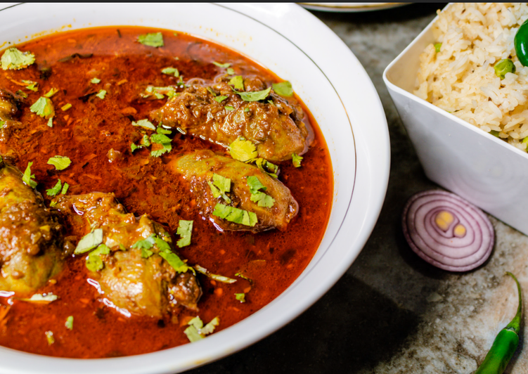 Traditional Punjabi Chicken Curry