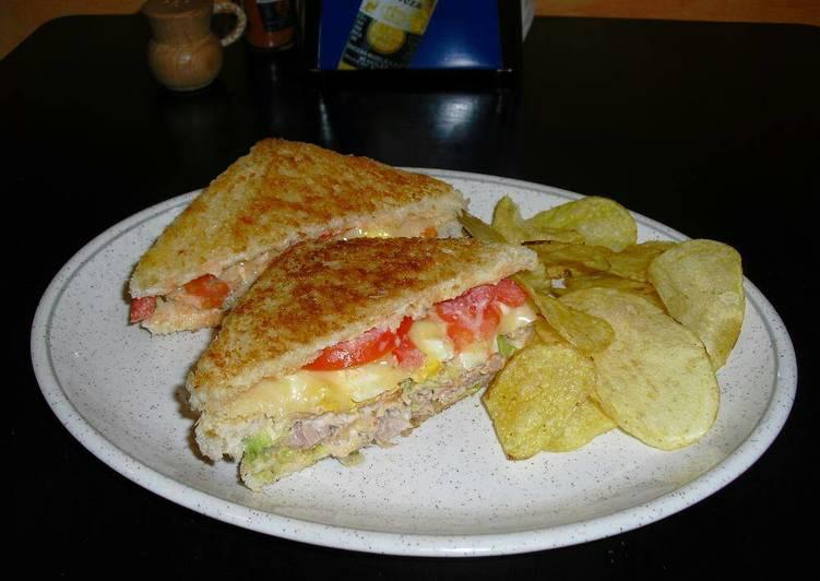 Sandwich de jamon y queso calorias