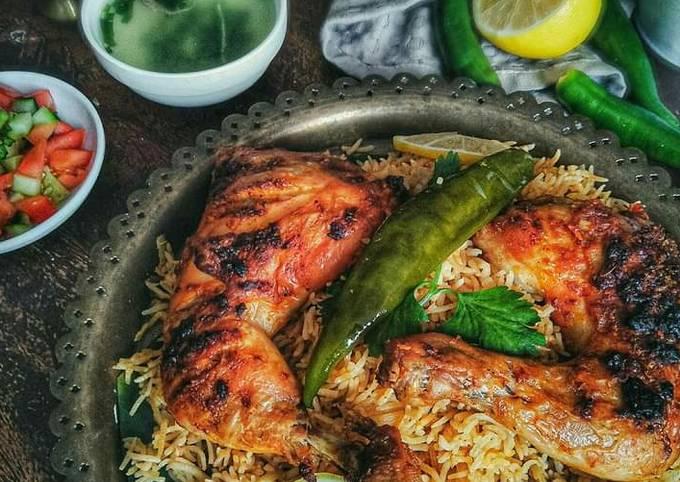 Bagaimana Membuat Nasi Mandy Ayam Saudi Anti Gagal