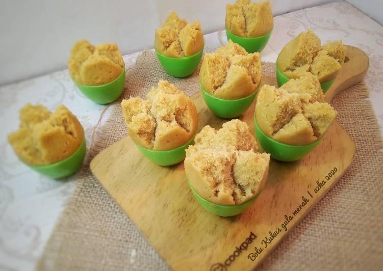 Bolu Kukus Gula Merah (eggless)