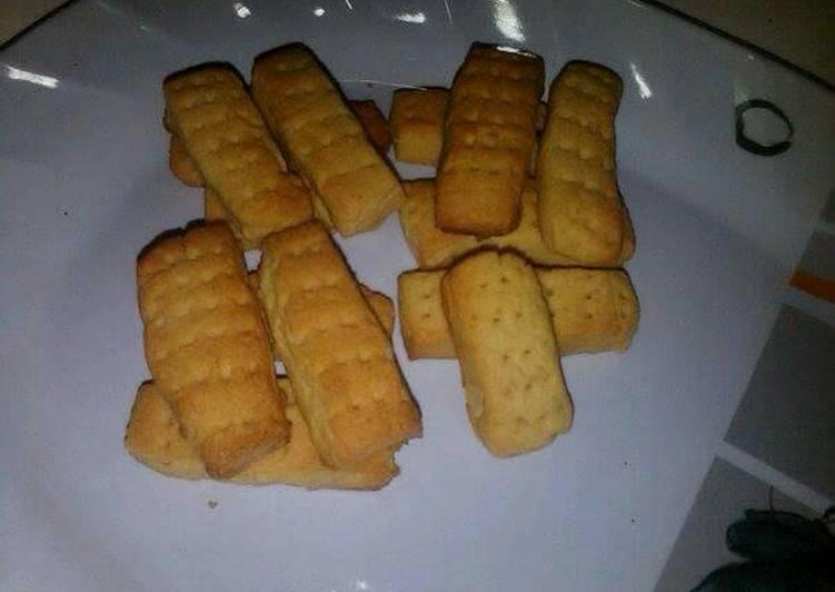 Recipe of Homemade Shortbreads