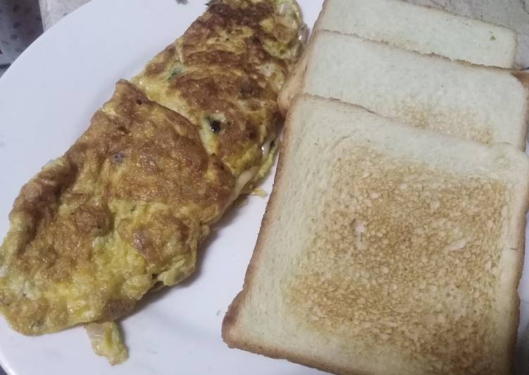 Simple Way to Prepare Perfect Cheese Omelet