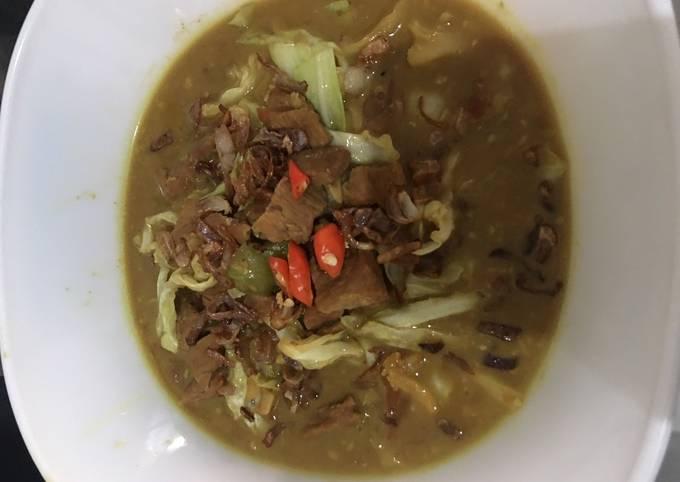 Tongseng Daging Kuah Gulai