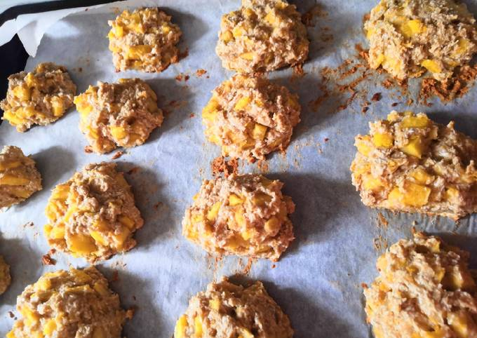 Cookies moelleux coco ananas