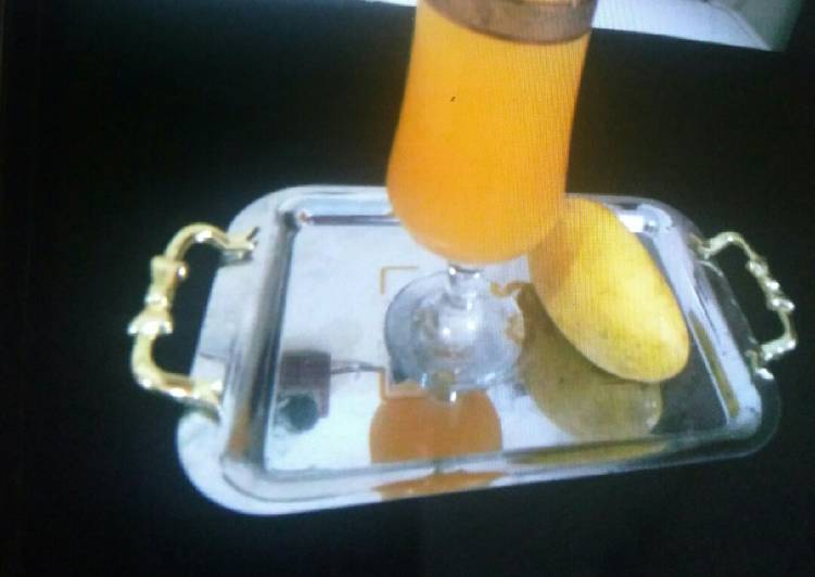 Steps to Prepare Any-night-of-the-week Mango squash