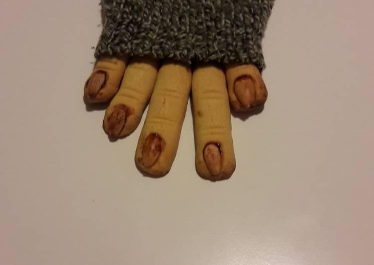 Ricetta Le dita della strega