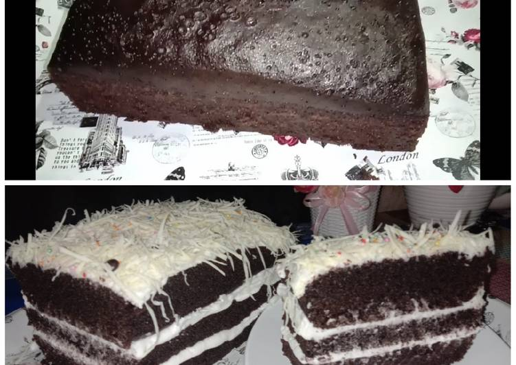 Resep Bolu kukus coklat no mixer no dcc Anti Gagal