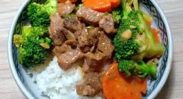 Hình ảnh món Bông cải xanh xào thịt bò