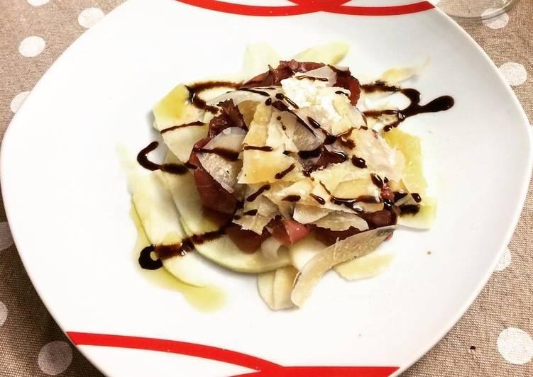 Carne Salada in agrodolce