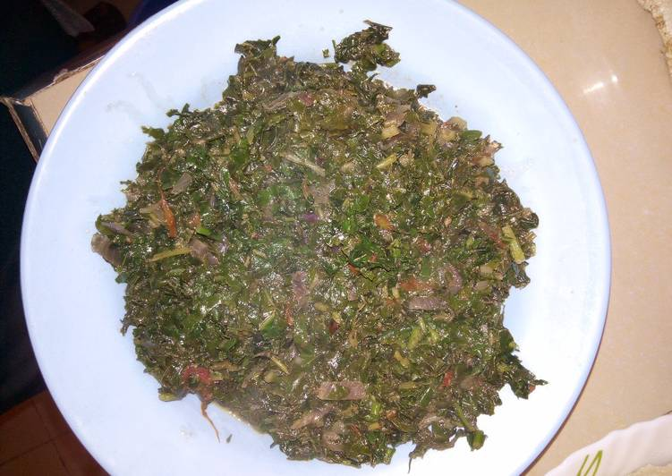 Recipe: 2020 Spinach and terere