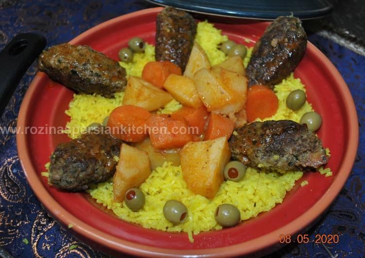 Kofteh Kabab کوفته کباب