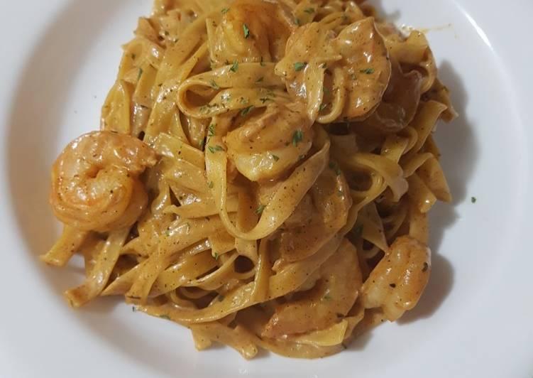 Recipe of Speedy 🔥Creamy Creole Shrimp scampi