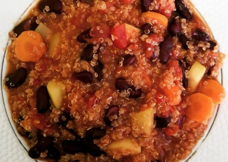 Chili sin Carne au quinoa