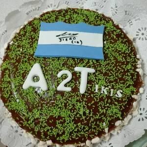 Torta chocolate cumple Juli