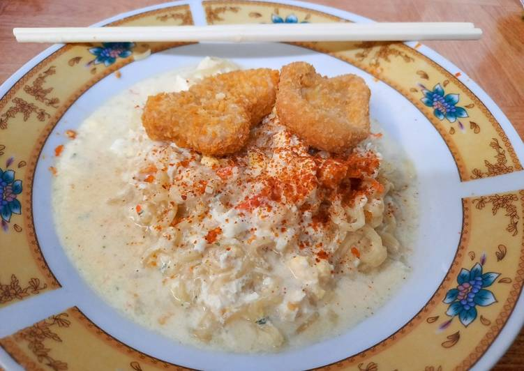 Resep Indomie Kuah Susu Simple Paling dicari