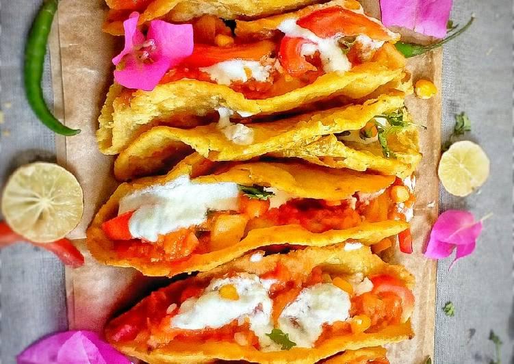 Mexican Tacos chaat