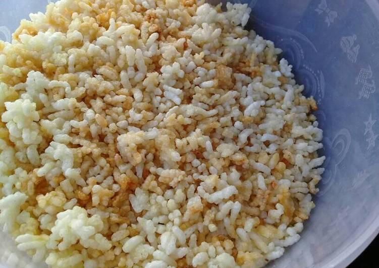 Resep Tips mengolah nasi sisa🌾🍚(nasi aking goreng), simpel