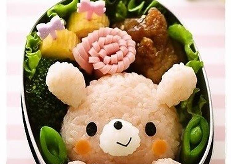 The Food Items You Select To Eat Will Effect Your Health Bunny Character Bento For Valentine's Day