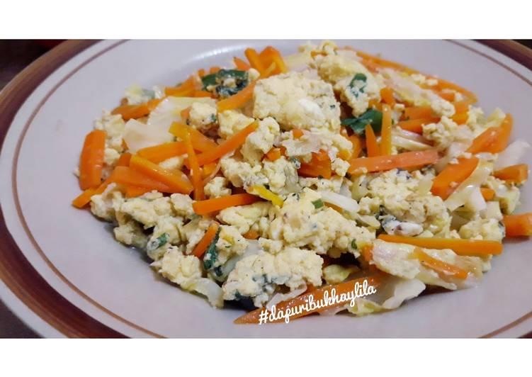 Telur urak arik sayuran