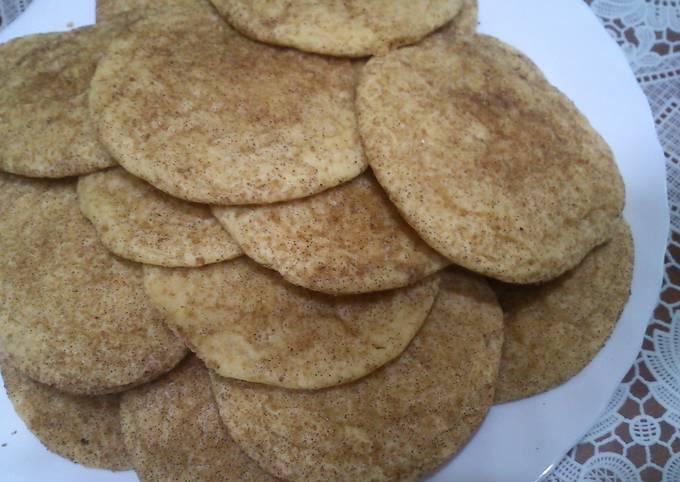 Recipe: Delicious Snickerdoodles