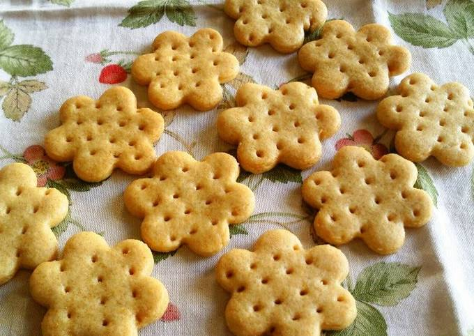 Recipe: Appetizing Oil-Free! Honey Biscuits