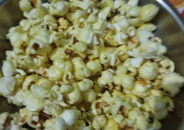 Butter black pepper popcorn - Laurie G Edwards