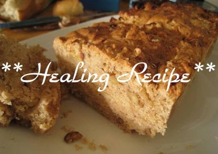 Grandmother's Dinner Easy Summer ● Macrobiotic Apple & Walnut Pound Cake ●