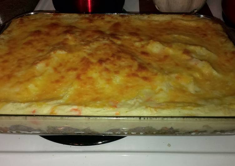 Cheesy Shepherds Pie