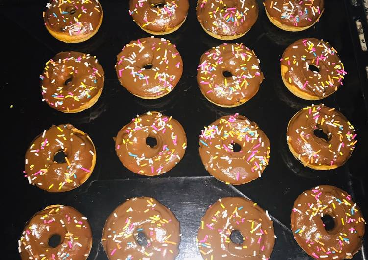 Recipe of Quick Baked doughnuts