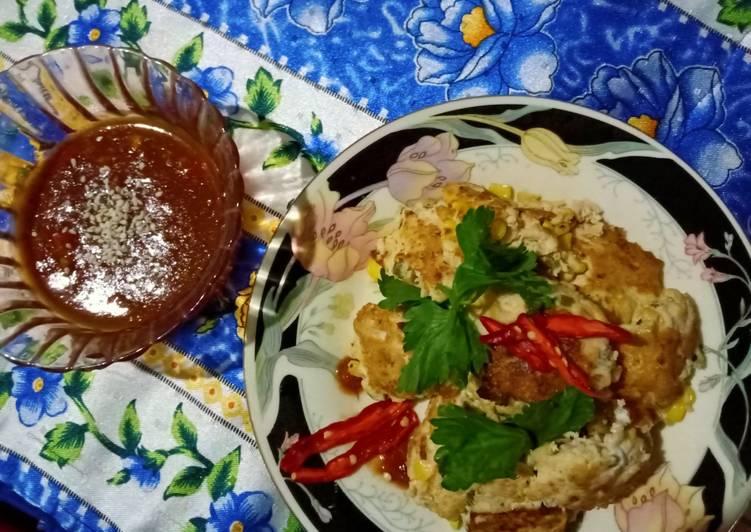 Nugget Tahu Tempe kukus Panggang/Goreng endeus