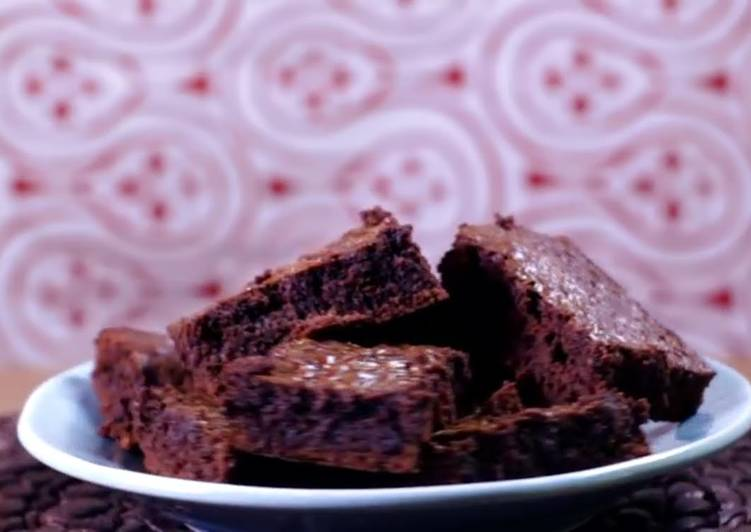 Easiest NUTELLA Brownies Ever!