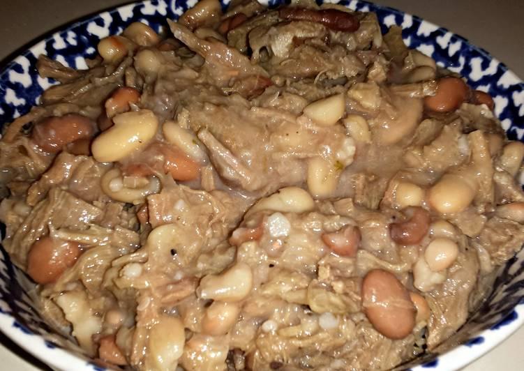 Crockpot Venison & Beans
