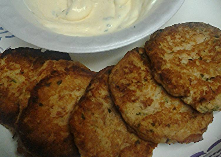 Recipe: Tasty Skye's Tuna patties and a sauce