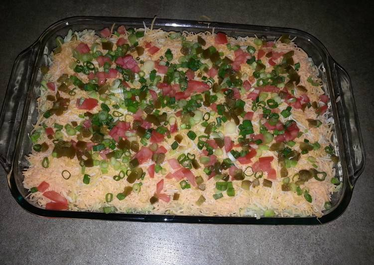 Simple Way to Prepare Homemade Taco Dip