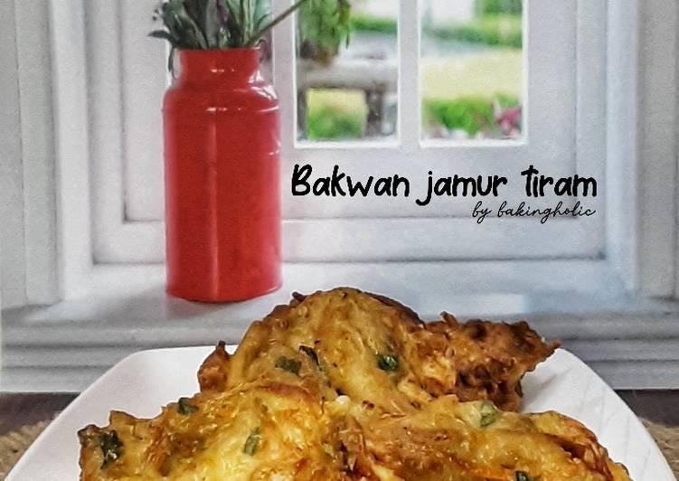 Bakwan Jamur Tiram