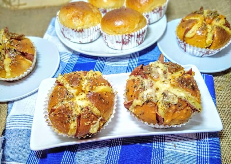 Korean Pizza Garlic Bread