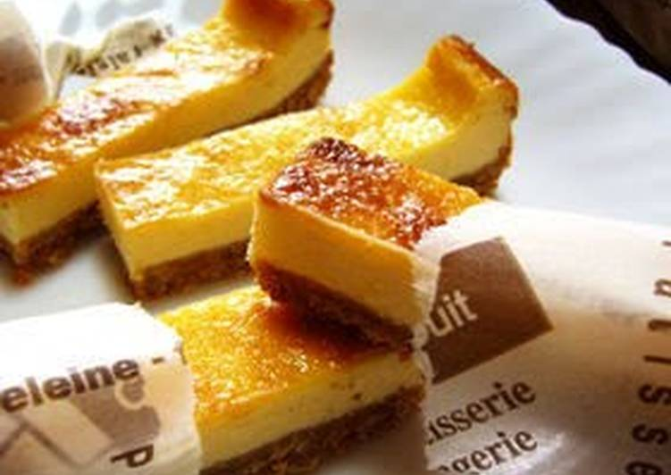 Steps to Prepare Top-Rated Just Mix Stick Cheesecake