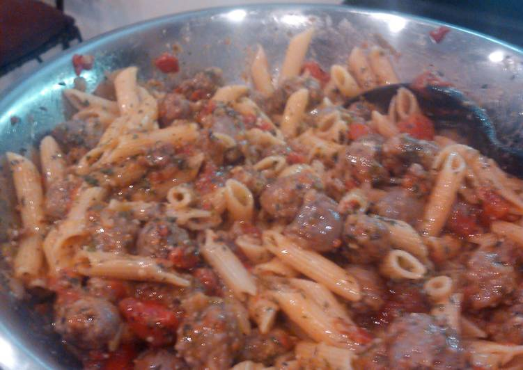 Easiest Way to Cook Tasty Stacy's Italian Sausage Pasta