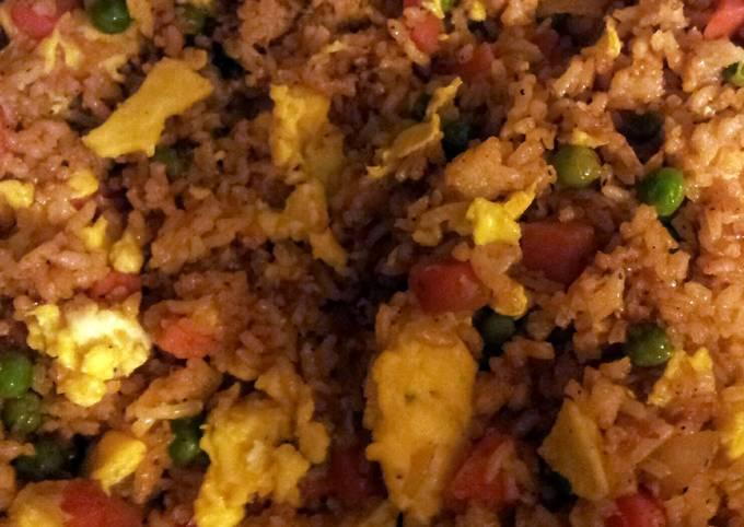 Hibachi style Japanese rice
