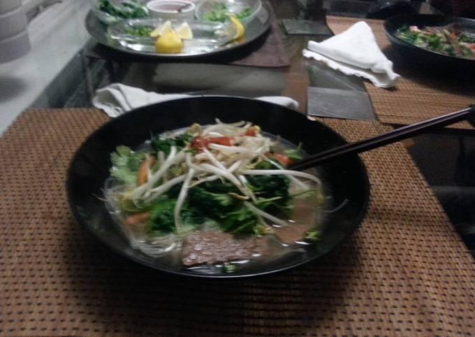 Authentic Vietnamese Beef Pho
