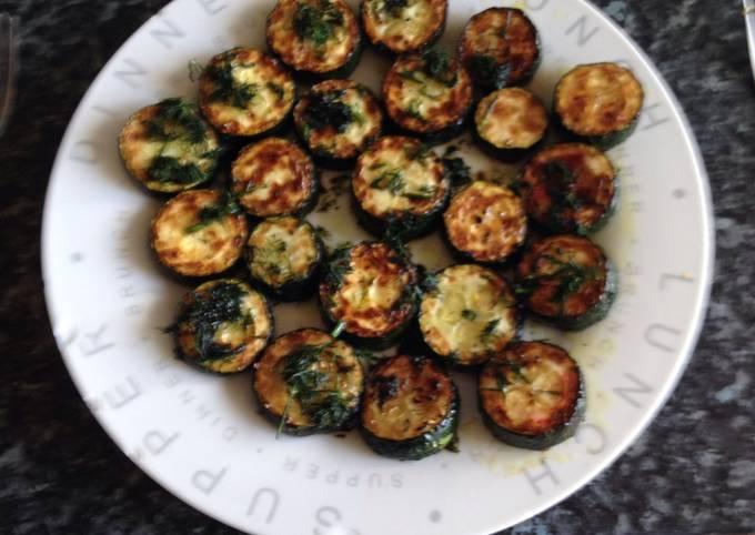 Garlic And Dill Zucchini